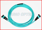 40Gbps Protocol 12 f.o. MTP Fiber Optic Cable / Patch Cord Multimode OM3 Type
